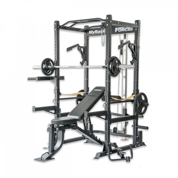 Force usa multi adjustable gym weight bench