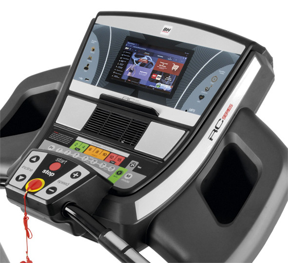 BH Fitness RC12 Touch Screen Treadmill-2