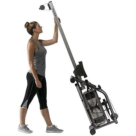 Pure Design VR1 Vitrus Water Rowing Machine - Demo-6