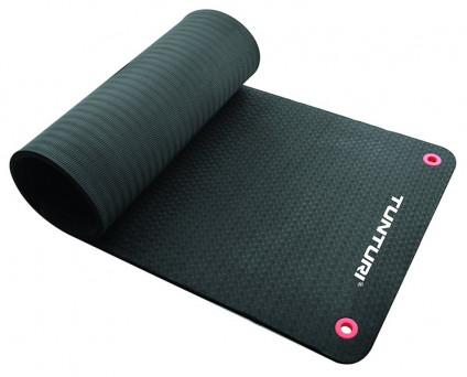 Tunturi Fitness Mat Pro Black 180 x 60 x 2 cm