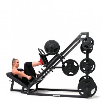 Force USA 45 Degree Leg Press With Calf Block