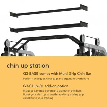 Force USA Monster G3 Straight Chin Up Bar Option