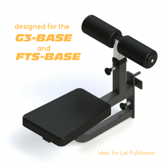 Force USA Adjustable Seat Attachment With Leg Holder (Compatible with F-FTS-B and F-G3)