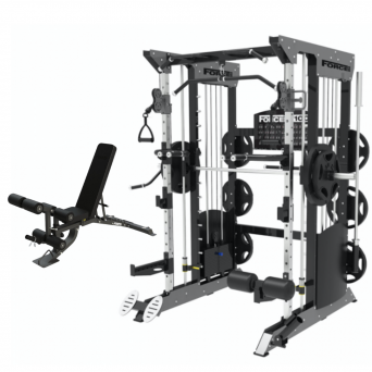 Force USA F100 Weight Stack Multi-Functional Trainer Package