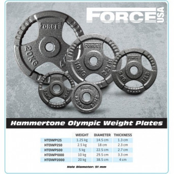 Olympic Hammertone Weight Plate 15kg