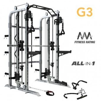 Force USA Monster G3 Smith Machine + Functional Trainer + Power Rack