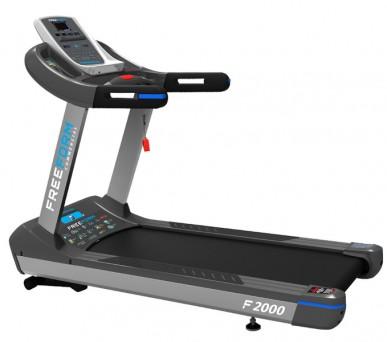FreeForm F2000 Endurance Commercial Treadmill - 6HP AC Motor