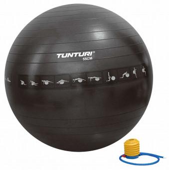 Tunturi Gymball 55cm, Black - Anti Burst