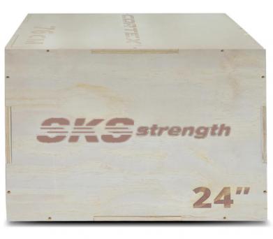 SKS Strength Plyo Box Wood 20/24/30 Inches
