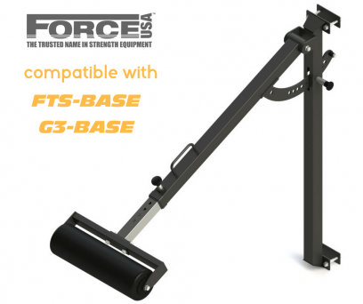 Force USA Fully Adjustable Stabilizer Bar (Compatible with F-FTS-B & F-G3-BASE)