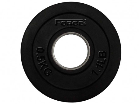 Force USA Rubber Coated Olympic Weight Plates 0.5Kg
