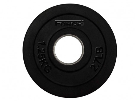 Force USA Rubber Coated Olympic Weight Plates 1.25Kg