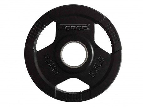 Force USA Rubber Coated Olympic Weight Plates 2.5Kg