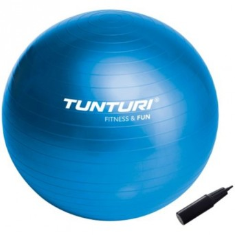 Tunturi 55cm Physio Ball with Pump