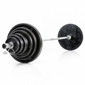 140kg Cast Iron Olympic Disk Set
