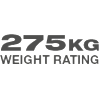 275 Weight Rating